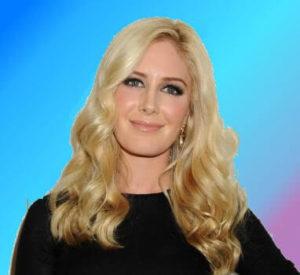 Heidi Montag in black