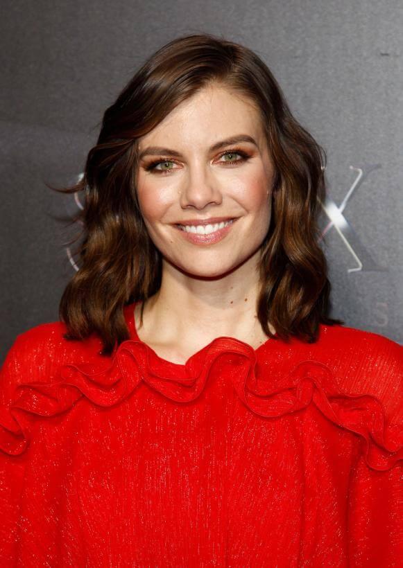 Lauren Cohen in red
